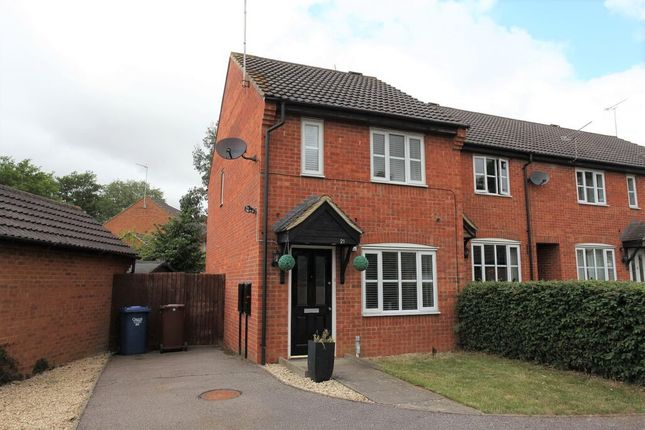 Thumbnail End terrace house to rent in Cumberford Close, Bloxham, Oxon