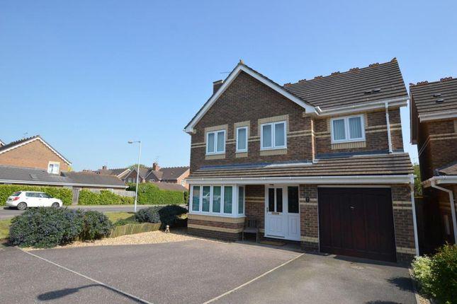 Thumbnail Detached house for sale in Mead Way, Monkton Heathfield, Taunton, Somerset