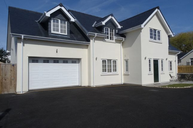 Thumbnail Detached house for sale in Newton Village, Porthcawl
