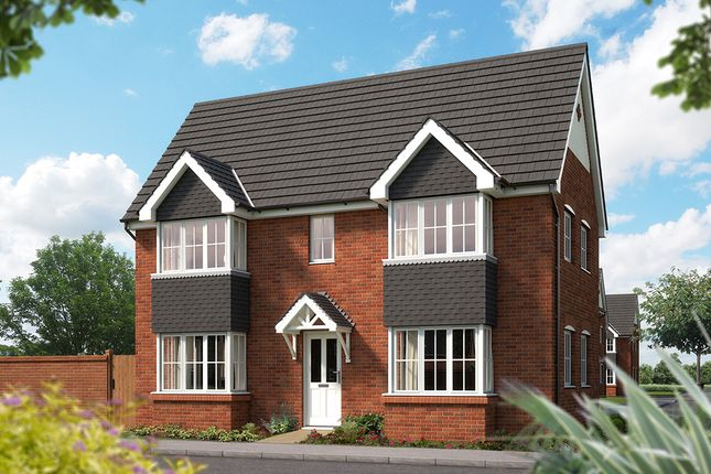"Thumbnail Detached house for sale in ""The Sheringham"" at Weights Lane Business Park, Weights Lane, Redditch"