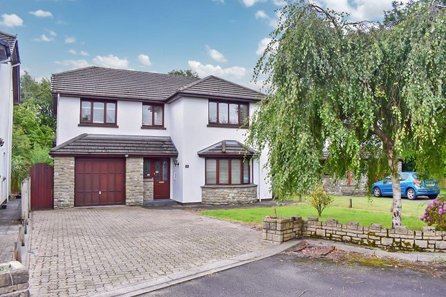 Thumbnail Detached house for sale in Parkfields, Pen-Y-Fai, Bridgend .
