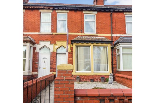 Front View of Waterloo Road, Blackpool FY4