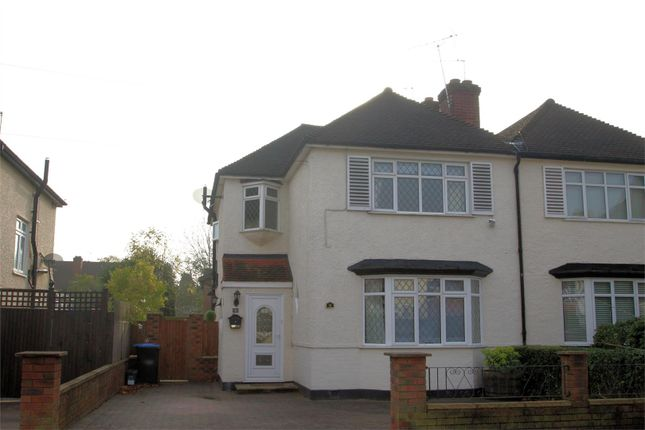 3 bed semi-detached house to rent in Holly Avenue, New Haw, Addlestone KT15