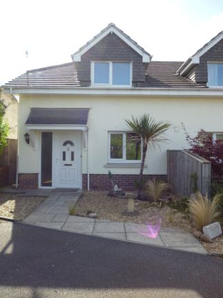 Thumbnail Semi-detached house to rent in Exeter Road, Dawlish