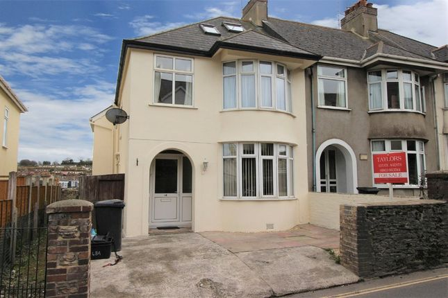 4 bed end terrace house for sale in Burton Street, Brixham