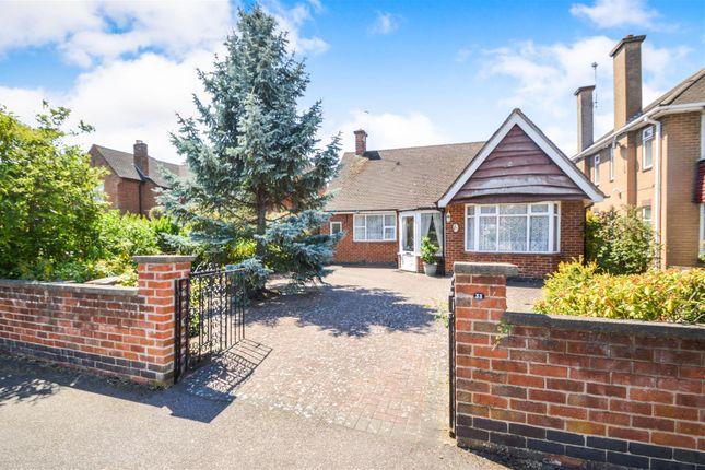 Thumbnail Detached bungalow for sale in Beacon Drive, Loughborough