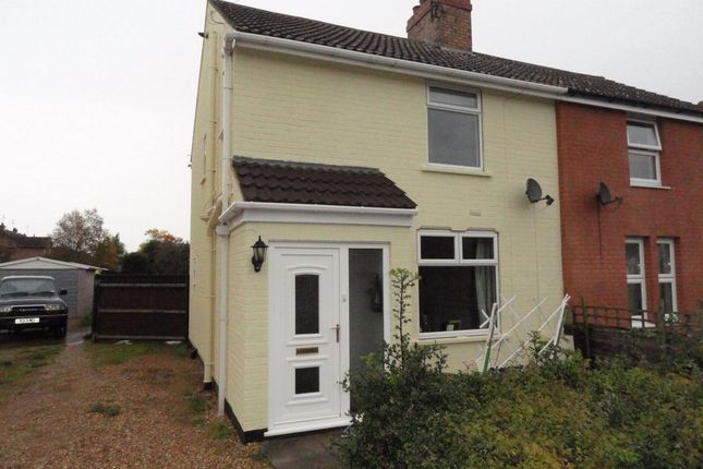 Thumbnail Semi-detached house to rent in Helpston Road, Glinton