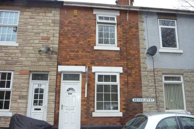 Thumbnail Terraced house to rent in Beverley Street, Derby