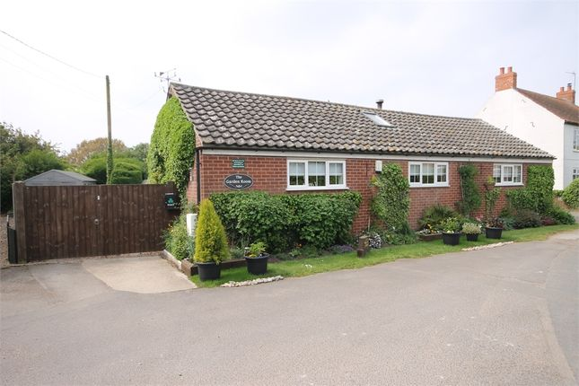 Thumbnail Detached bungalow for sale in Thorney Road, Wigsley, Nottinghamshire.