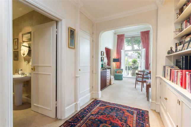 Hallway of Randolph Crescent, Little Venice, London W9