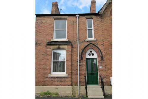 Thumbnail Terraced house to rent in Wellington Road, Wrexham