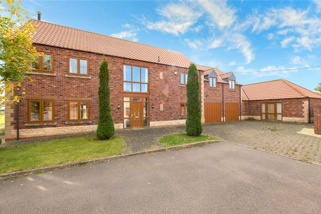 Detached house for sale in Mareham Lane Farm House, Mareham Lane, Sleaford, Lincolnshire