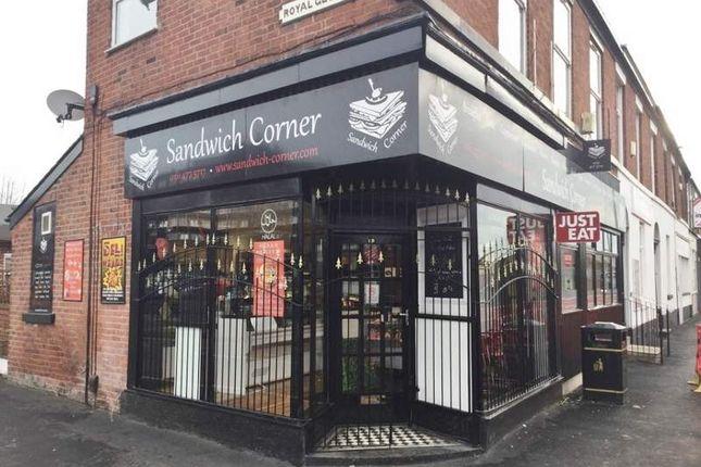 Thumbnail Restaurant/cafe for sale in 15 Greek Street, Stockport