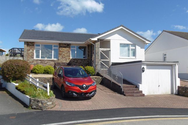 Thumbnail 3 bed detached bungalow for sale in St Winnolls, Barbican Hill, Looe