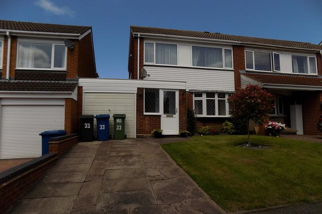 Thumbnail Semi-detached house to rent in Sunbeam, Lakeside, Tamworth