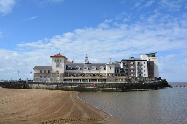 Thumbnail 2 bedroom flat for sale in Knightstone Causeway, Weston-Super-Mare