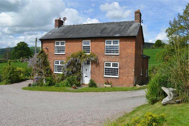 Thumbnail Farmhouse for sale in Gwynfynydd, Llanwnog, Caersws, Powys