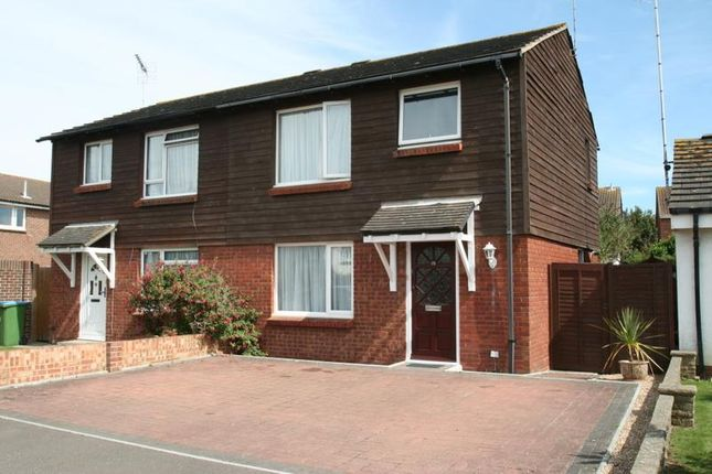 Thumbnail Semi-detached house to rent in Fastnet Way, Littlehampton
