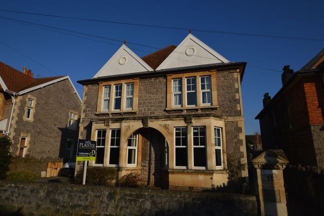 Thumbnail Detached house for sale in Clarence Grove Road, Weston-Super-Mare