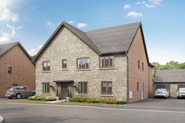 Thumbnail Detached house for sale in The Wolvercote, Plot 135, Lakeview, Colwell Green, Witney, Oxon