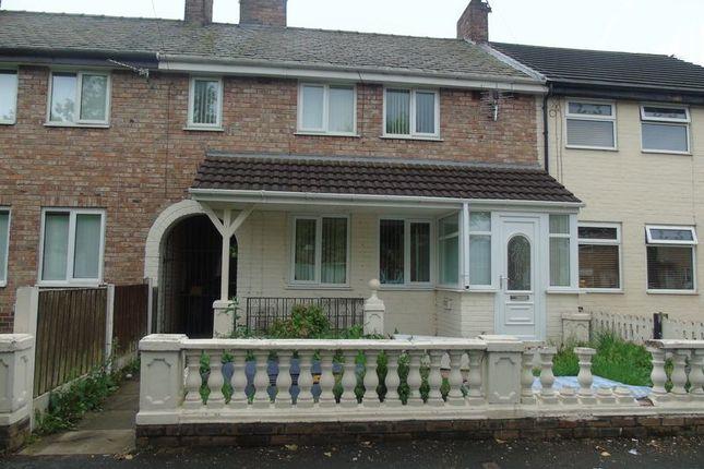 Thumbnail Terraced house to rent in Lathum Close, Whiston, Prescot
