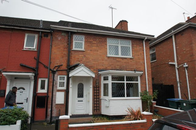 Thumbnail End terrace house to rent in Terry Road, Coventry