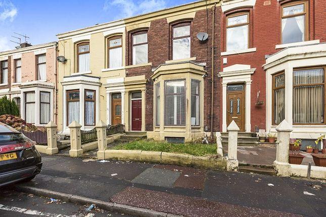 Thumbnail Terraced house to rent in Burlington Street, Blackburn