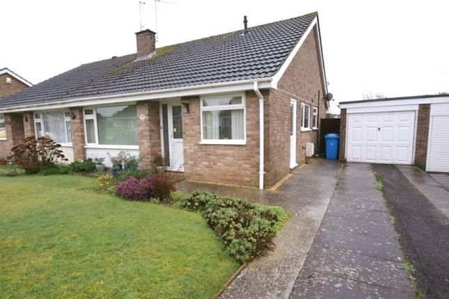 Thumbnail Semi-detached bungalow for sale in Chichester Walk, Merley, Wimborne