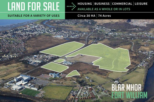 Thumbnail Commercial property for sale in Land At Blar Mhor, Fort William