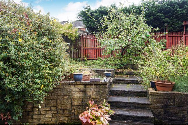 Garden of Badger Close, Rochdale OL16