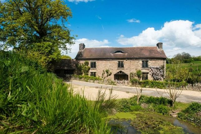 Thumbnail Detached house for sale in Rowlestone, Pontrilas, Hereford