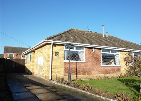 Thumbnail Semi-detached bungalow for sale in Oakwood Drive, Wybers Wood, Grimsby