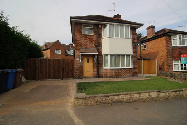 Thumbnail Detached house to rent in Jackson Avenue, Mickleover, Derby
