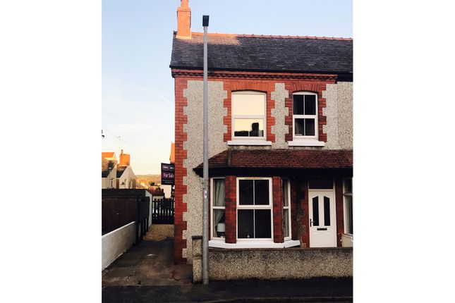 Thumbnail Semi-detached house for sale in Queens Road, Llandudno Junction