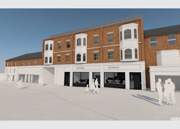 Thumbnail Block of flats for sale in Upper George Street, Luton