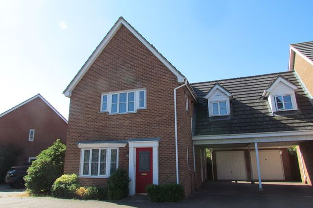 Thumbnail Link-detached house to rent in Artillery Drive, Dovercourt, Harwich