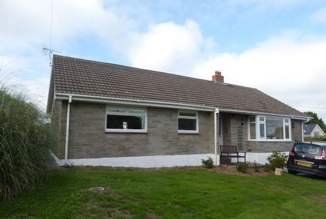 Thumbnail Detached bungalow to rent in Leonardston Road, Llanstadwell, Milford Haven