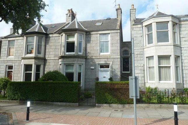 Thumbnail Terraced house to rent in Fountainhall Road, Aberdeen