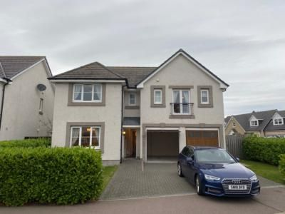 Thumbnail Detached house to rent in 40 Berryhill Circle, Westhill, Aberdeenshire