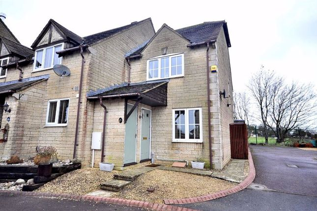 Thumbnail End terrace house for sale in Gardiner Close, Chalford, Stroud
