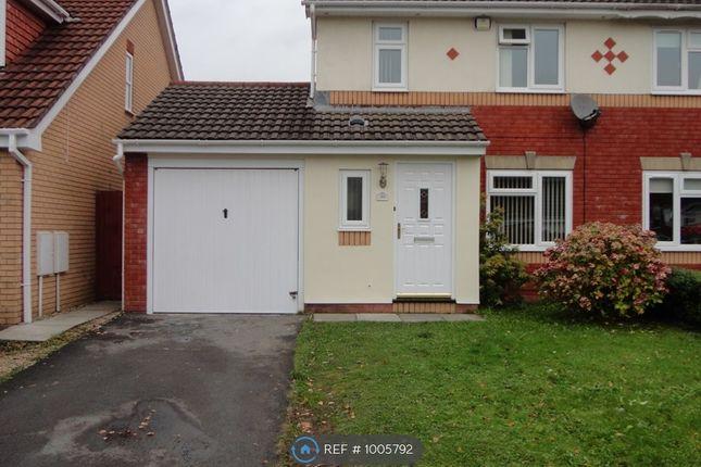 Thumbnail Semi-detached house to rent in Derwen Deg, Neath