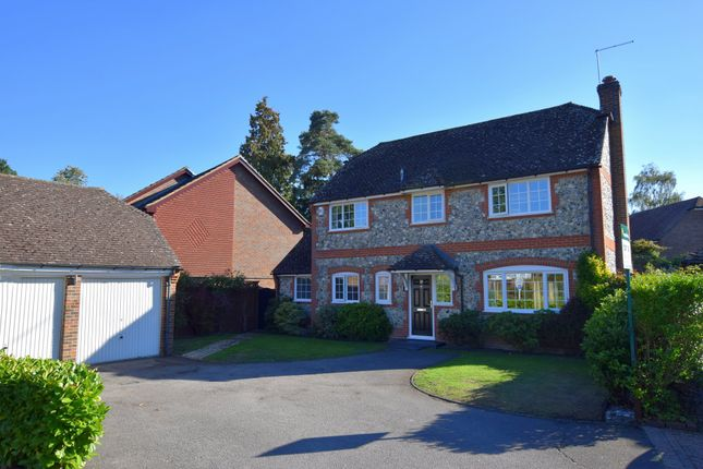 Thumbnail Detached house for sale in Broadhurst, Farnborough