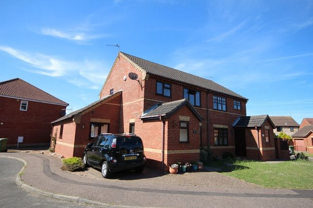 Thumbnail Semi-detached house for sale in El Alamein Way, Bradwell, Great Yarmouth
