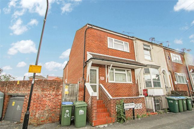 Thumbnail End terrace house for sale in Derby Road, Southampton, Hampshire