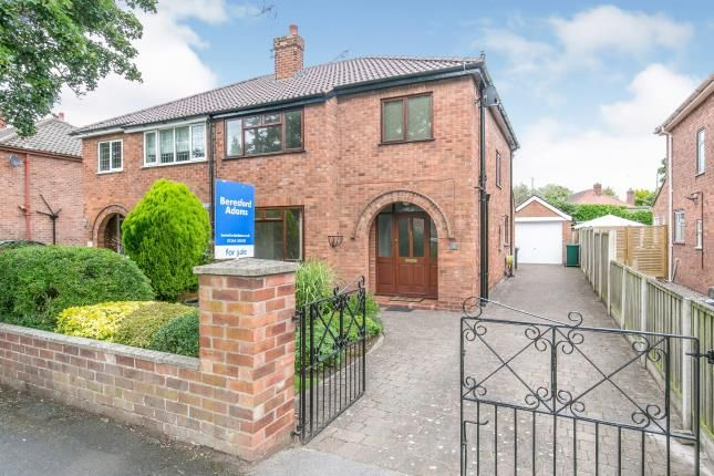 Thumbnail Semi-detached house for sale in Sandrock Road, Christleton, Chester, Cheshire