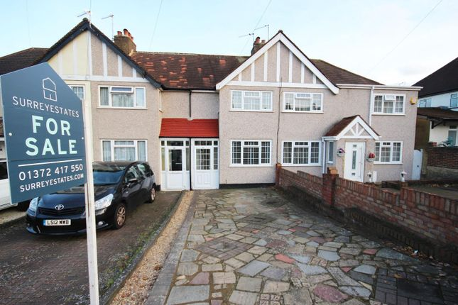 2 bed terraced house for sale in Gilders Road, Chessington