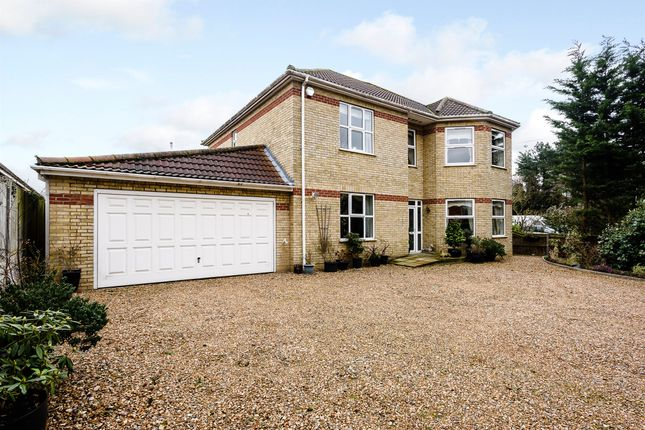 Thumbnail Detached house for sale in Station Road, Attleborough