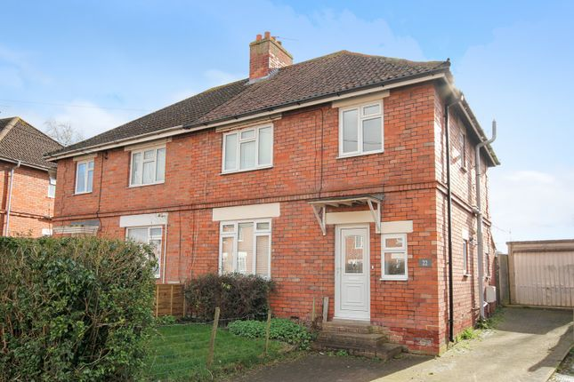 Thumbnail Semi-detached house to rent in The Crescent, Westbury