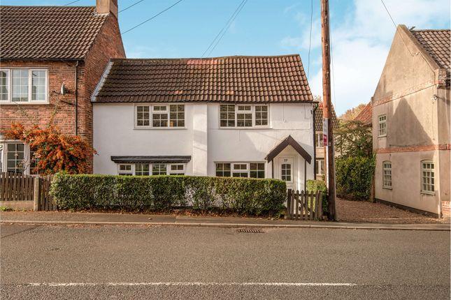 Thumbnail Cottage for sale in Eldon Street, Tuxford, Newark