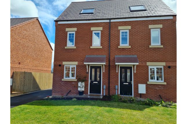 3 bed semi-detached house for sale in Drill Hall Place, Newport TF10